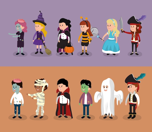 Enfants et halloween
