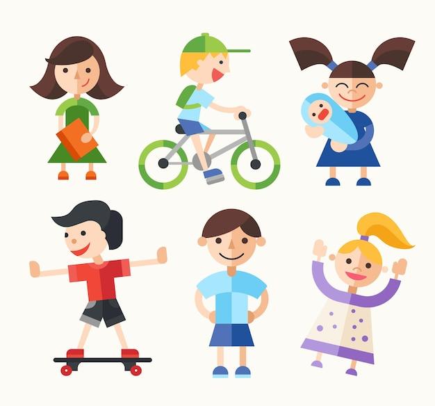 Les enfants et leurs activités
