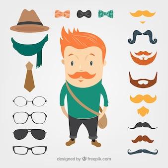 Engrenage hipster