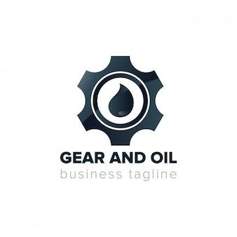 Engrenage logo d'assemblage
