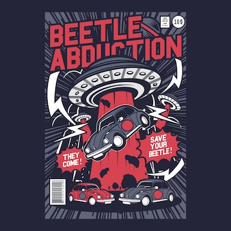 Enlèvement de coléoptères