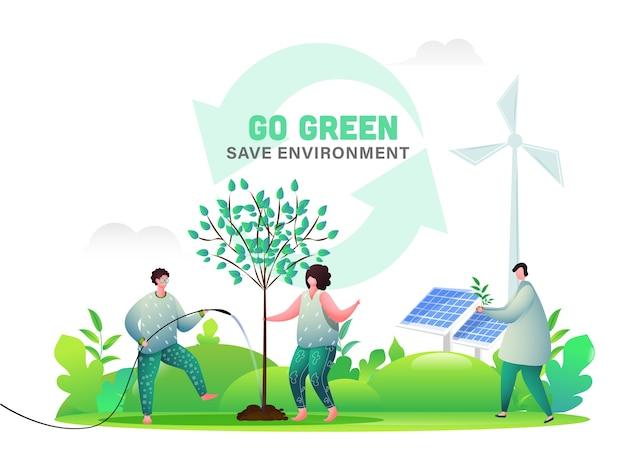 Enregistrer le concept d'environnement