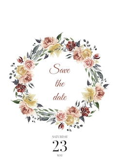 Enregistrer les modèles de mariage de date