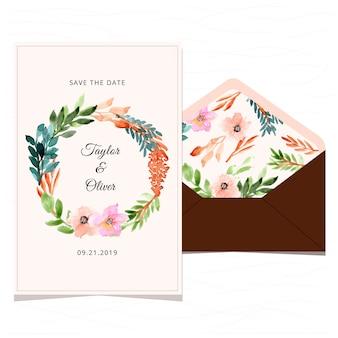 Enregistrez la carte de date et l'enveloppe