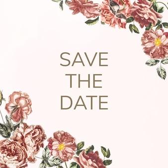Enregistrez l'illustration d'invitation