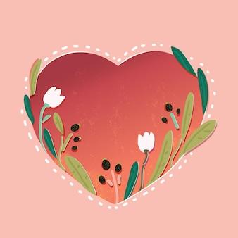 Enregistrez le jeu de cartes florales de date