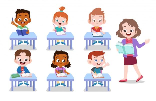 Enseignant et élève