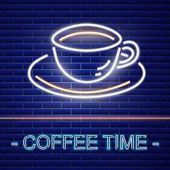 Enseigne au café