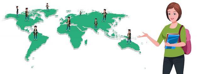 L'enseignement supérieur dans le monde