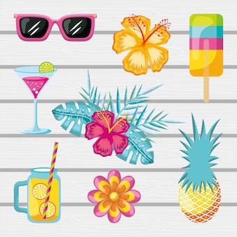 Ensemble d'accessoires d'été
