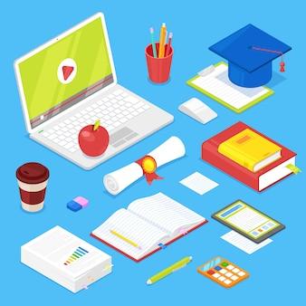 Ensemble d'accessoires d'étudiant