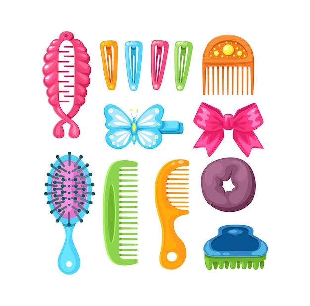 Ensemble d'accessoires pour cheveux féminins bandes élastiques arcs cerceaux épingles à cheveux peignes couronne invisible