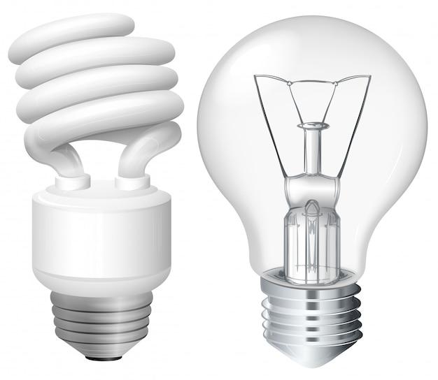 Ensemble d'ampoules