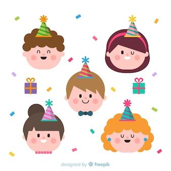 Ensemble d'anniversaire pour enfants