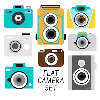 Ensemble d'appareil photo plat