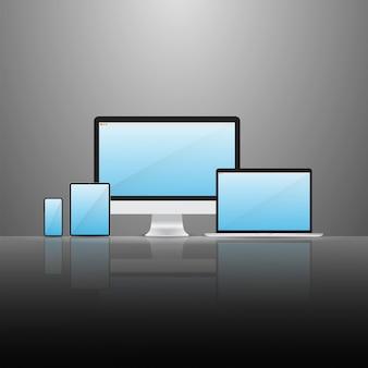 Ensemble d'appareils numériques