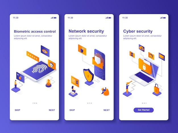 Ensemble d'applications isométrique de cybersécurité