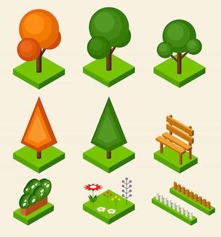 Ensemble d'arbre isométrique