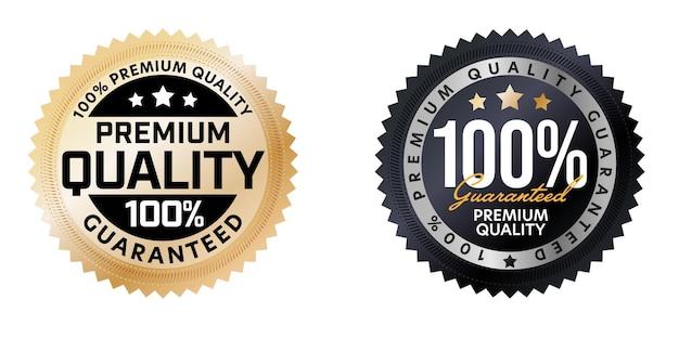 Ensemble d'autocollants ronds garantis de qualité supérieure à 100 %