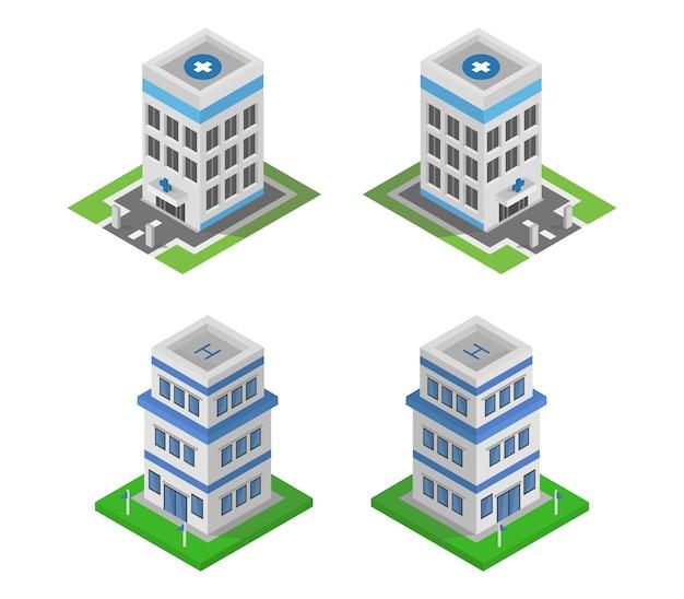 Ensemble de bâtiments