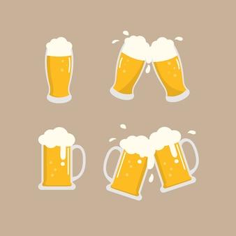 Ensemble de bière