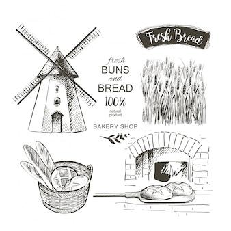 Ensemble de blé