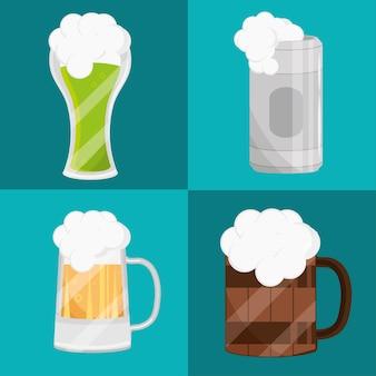 Ensemble de boisson à la bière