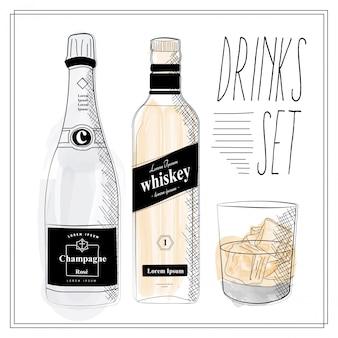 Ensemble de boissons