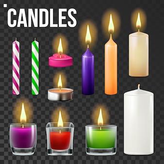 Ensemble de bougies
