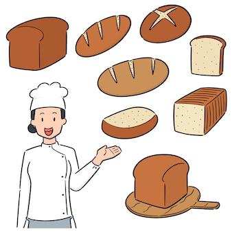 Ensemble de boulanger