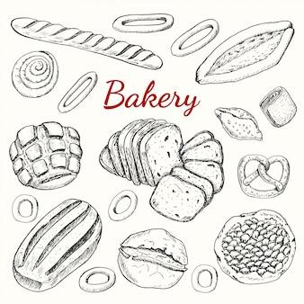 Ensemble de boulangerie