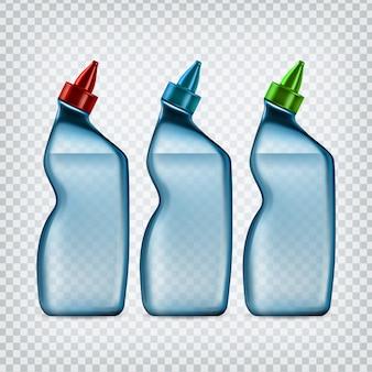 Ensemble de bouteilles de détergent pour tuyau de vidange