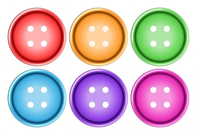 Ensemble de boutons