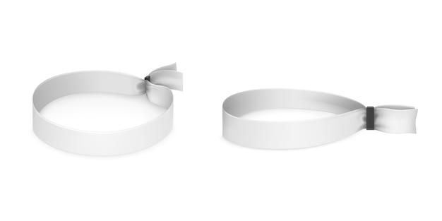 Ensemble de bracelets en tissu pour fêtes