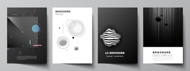 Ensemble de brochures