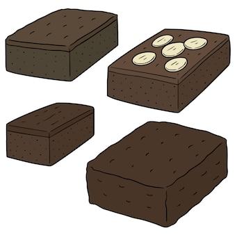 Ensemble de brownie