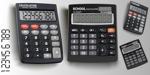 Ensemble de calculatrice