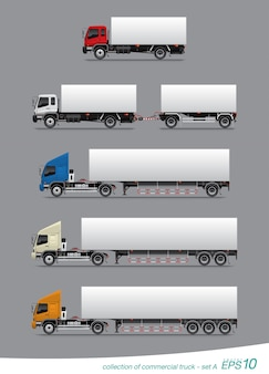 Ensemble de camion de fret