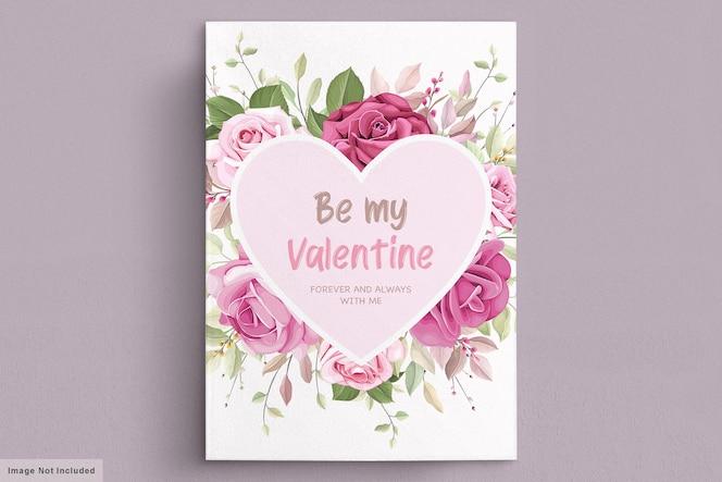 Ensemble de cartes de mariage élégant lily