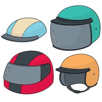 Ensemble de casque de moto
