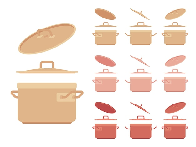 Ensemble casserole, appareil de cuisine