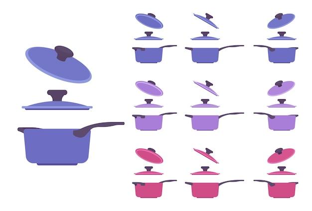 Ensemble de casseroles, appareil de cuisine