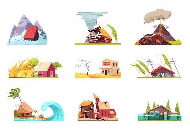 Ensemble des catastrophes naturelles