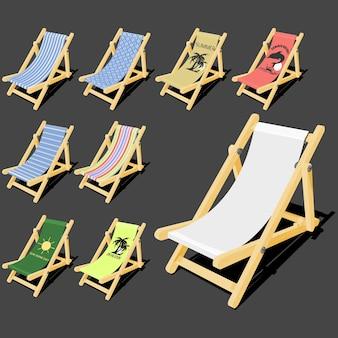 Ensemble de chaise longue