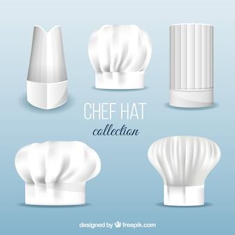 Ensemble de chapeaux de chef