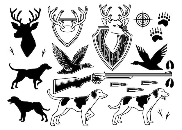 Ensemble de chasse