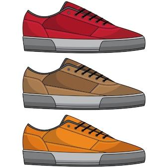 Ensemble de chaussures cool
