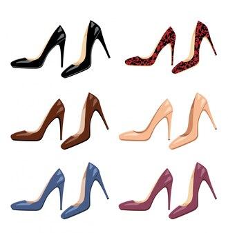 Ensemble de chaussures femmes