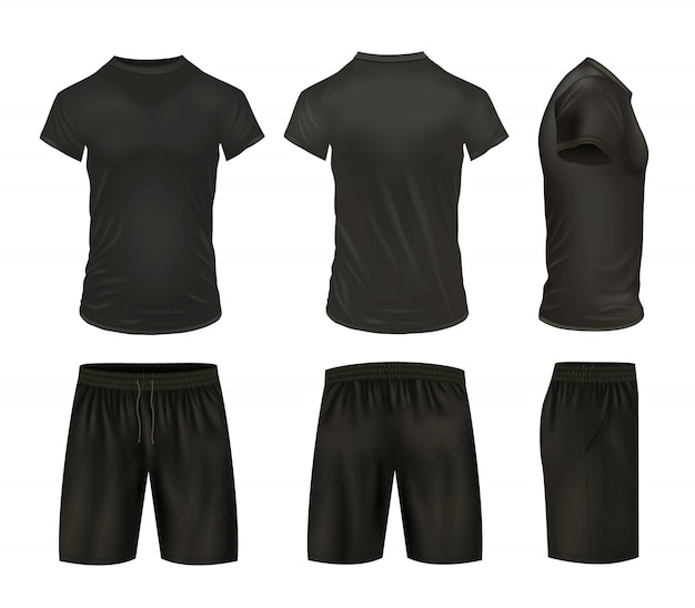 Ensemble chemises et shorts