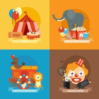 Ensemble de cirque